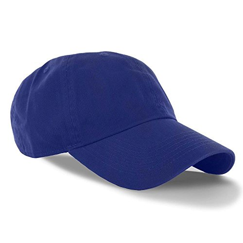 Blue_(US Seller)Curved Bill Plain Baseball Cap Visor Hat Adjustable (Aussie Flag Dress)