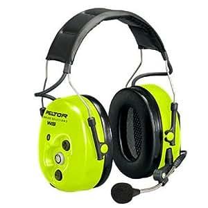 Amazon.com: Peltor Hearing Protection - Bluetooth Wireless Headset - High Viz-Headband: Home ...