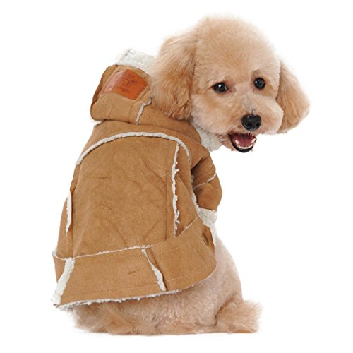 Puppy Clothes,Haoricu Winter Dogs Jacket Warm Pet Coat for Pets Small Dog Cat Pet Clothes Dog Shirt Costume (M, (Boys Halloween Clothes)