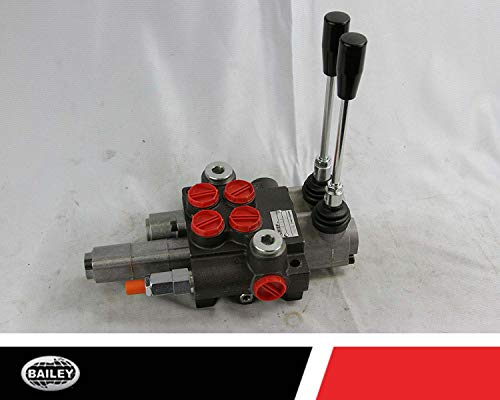 Chief P40 G Series Directional Control Valve Loader: 2 Spool, 3 Position Spring Center and 4 Position Float, 10 GPM, 3625 PSI, SAE #10 Inlet and Outlet, SAE #8 Work Ports, 220956 by Chief (Image #6)