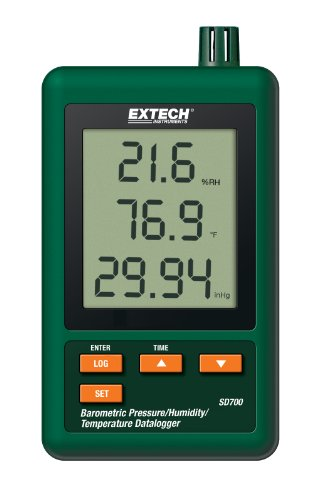 Extech SD700 Pressure, Humidity and Temperature Data Logger (Hpa Lcd)
