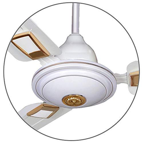 APSRA Deco Ceiling Fan 390 RPM 1200mm HIGH Speed BEE Approved 5 Star Rated – 2 Year Warranty