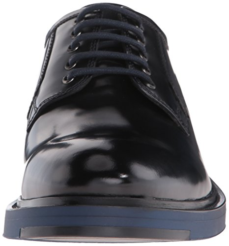 Kenneth Cole New York Mens Hi Fem Oxford Marinblå