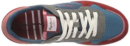 Sneakers Jeans Pepe Date 470 Rouge Basses Verona Femme Room W 6Swwq1IU