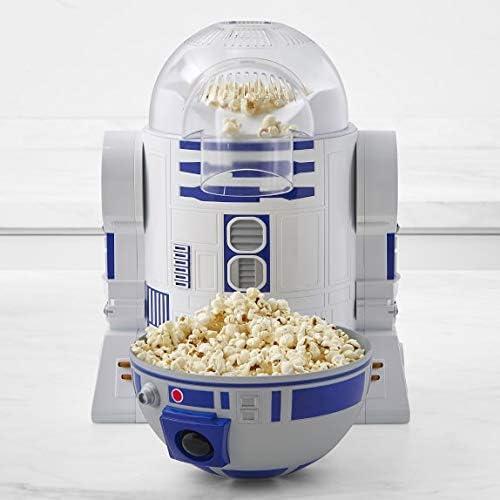 Uncanny Brands Star Wars R2D2 Máquina para hacer palomitas de maíz - Dispositivo de cocina totalmente operativo Droid: Amazon.es: Hogar