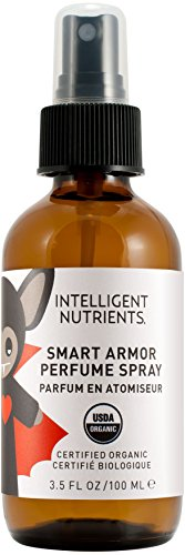 Intelligent Nutrients - Smart Armor Perfume Spray, Natural DEET Free Insect Repellent, 3.5 oz