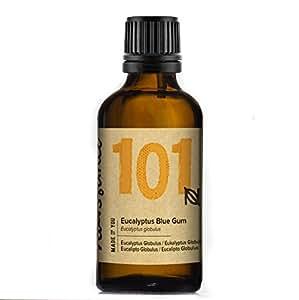 Naissance Aceite Esencial de Eucalipto Azul 50ml - 100% puro, vegano y no OGM