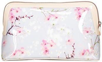 Ted Baker Oriental Flor chiplin Neceser, neceser, estuche de maquillaje rosa tamaño pequeño - Rosa, Chica: Amazon.es: Equipaje