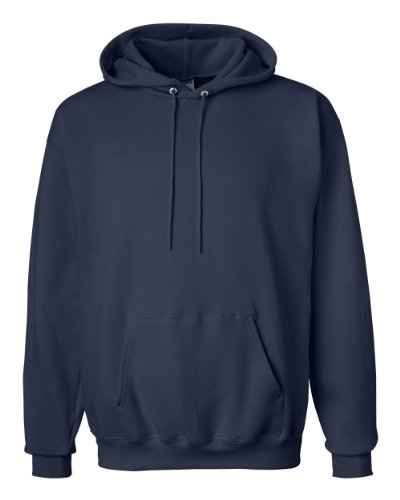 Hanes Ultimate Cotton - Pullover Hooded Sweatshirt, F170, Deep Navy, L