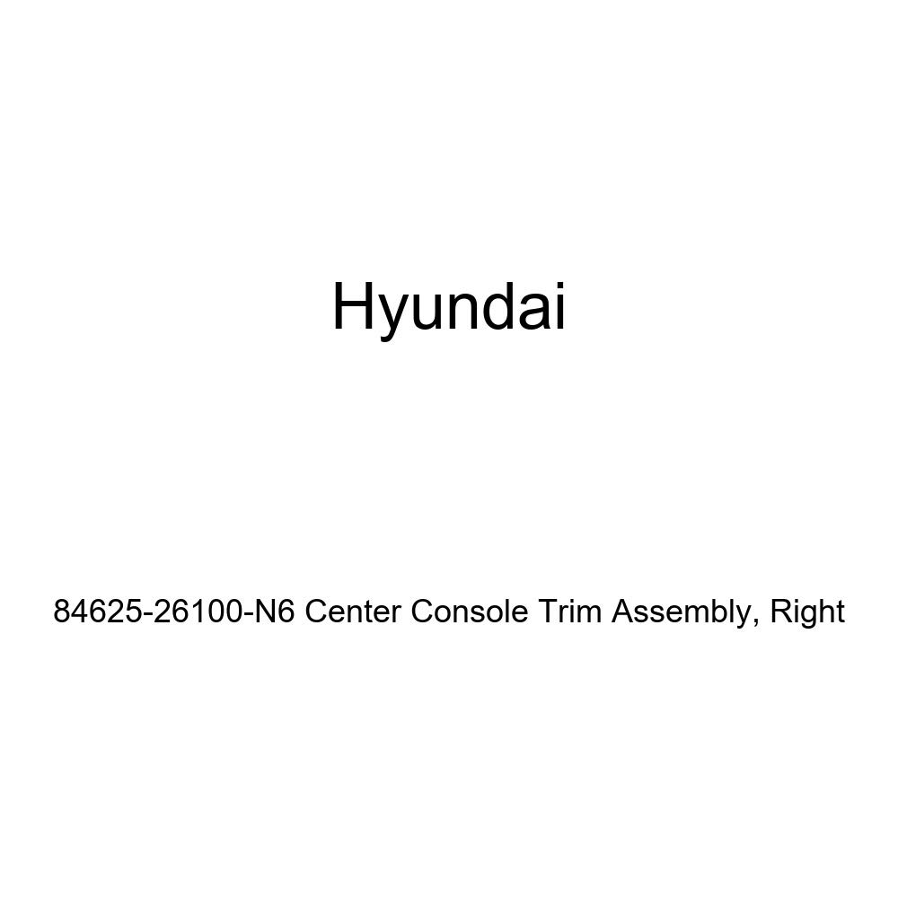 Genuine Hyundai 84625-26100-N6 Center Console Trim Assembly Right