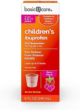 Basic Care Childrens Ibuprofen Suspension product image