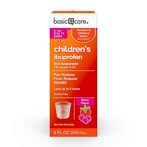 Basic Care Children's Ibuprofen Oral Suspension, 8 - Childrens Motrin