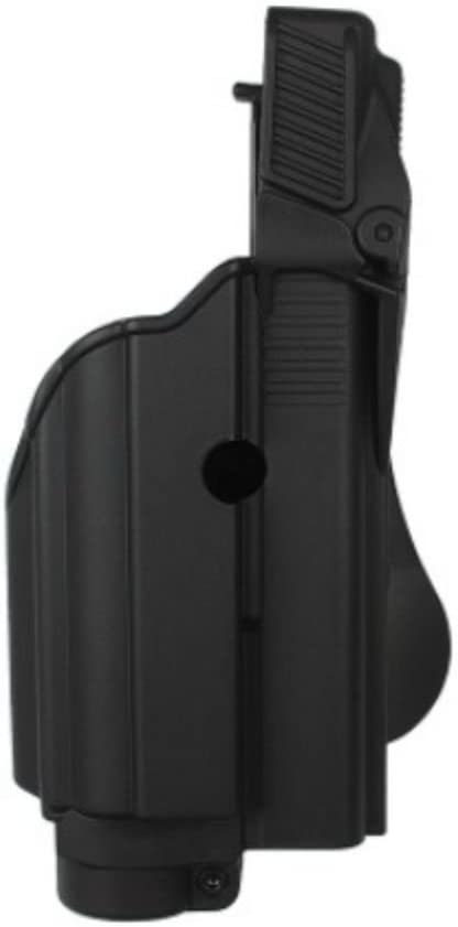 IMI Defense Tactical Funda de Pistola IMI-Z1600Laser Funda Level II for Glock 17/19/22/23/25/