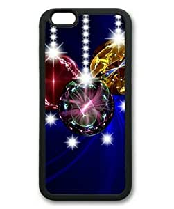 Armener iPhone 6 Plus (5.5 inch) TPU Case Rubber Sides Shell With Christmas Balls-2