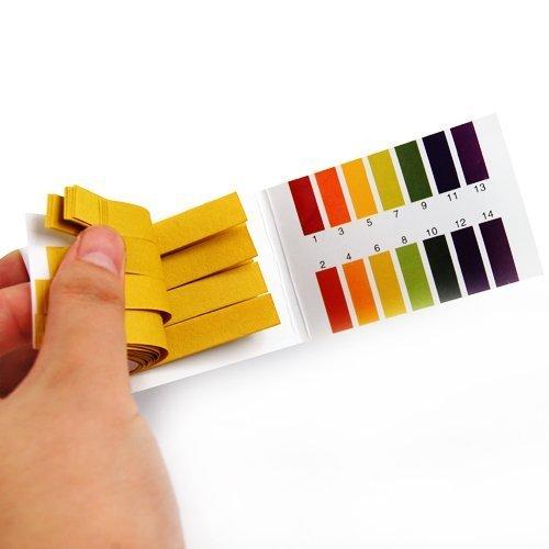 Universal 160 Full Range 1-14 pH Test Paper Strips - 4