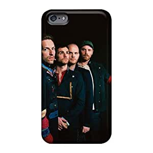 Shock Absorbent Hard Cell-phone Case For Iphone 6 (Gpv1118YZKX) Provide Private Custom Trendy Coldplay Band Skin