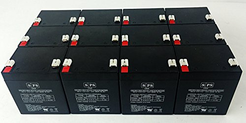 12V 5Ah Magnetic Resounants Replacement BatteryMedical Replacement Battery (SPS Brand) -12 Pack by SPS