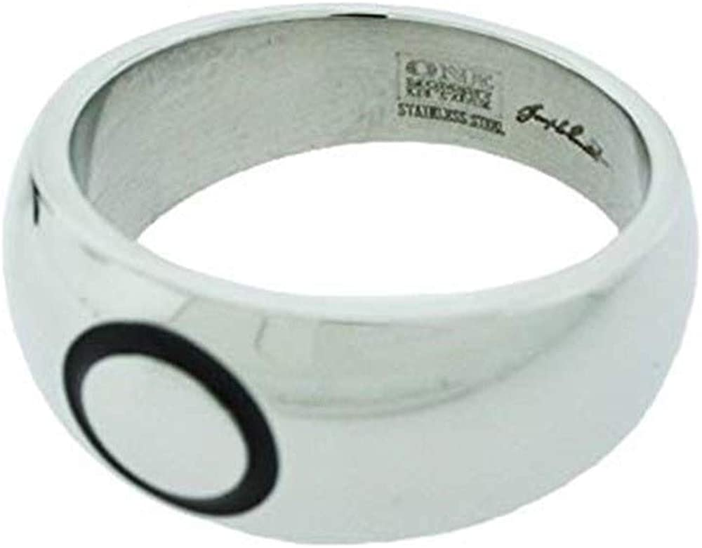 One Moment In Time J39SS Sizes 8-13 Joseph Smith Ring Stainless Steel Ring Mormon CTR LDS