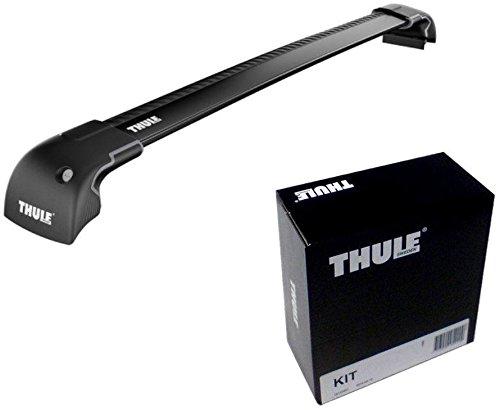 THULE スーリー ベースキャリアセット 9591B+3092 スズキ SX4 5ドア ルーフレールなし H18/7-9591B+3092 B01HGV6KL8