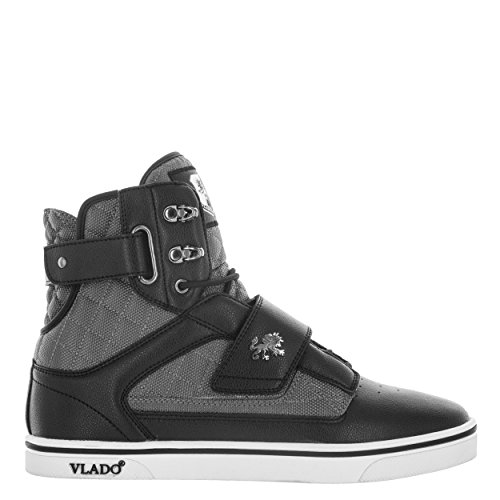 High M II Atlas Grey Microfiber Sneaker Footwear VLADO Black Top Men's pxIqwSntY