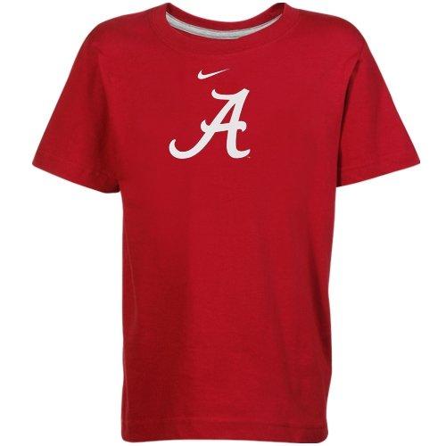Nike Alabama Crimson Tide Preschool Classic Logo T-Shirt - Crimson (5)