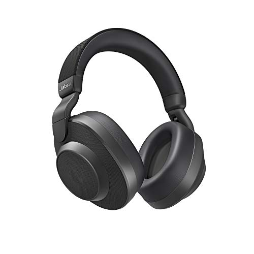 Jabra Elite 85h Black Active Noise Canceling Bluetooth Headphones (Renewed)