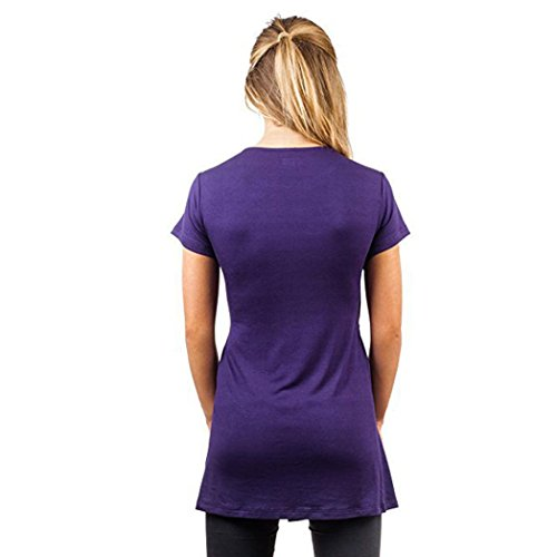 Premaman maternit Shirt T Luoluoluo Felpa Donna qwHfHYO