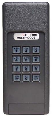 MULTI-CODE 4200 Garage Door Opener Keyless Entry 300MHz