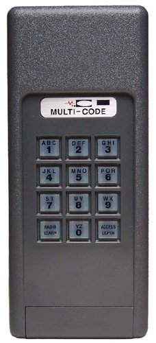 MULTI CODE 4200 Garage Door Opener Keyless Entry 300MHz