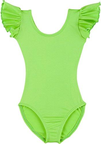 (Leotard Boutique Flutter Ruffle Short Sleeve Leotard for Dance, Gymnastics and Ballet (Toddlers &)