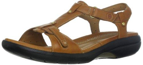 Clarks Women's Shade Sandal,Tan,8 W US