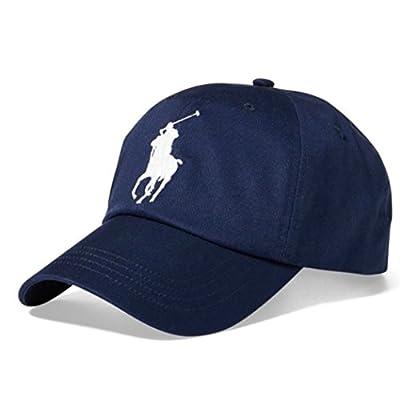 RALPH LAUREN Polo Ralph Lauren Men Big Pony Logo Hat Cap One Size (Hol Navy)