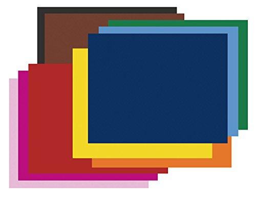 (Pacon 5487-2 Railroad   Board,  10 Assorted Colors)