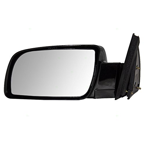 Drivers Manual Side View Mirror Standard Type with Plastic Base Replacement for Chevrolet GMC Pickup Truck SUV (Standard Side Mirror)
