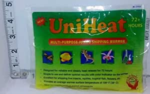 72-hour Uniheat Heat Pack for Shipping Plants, Live Insects, Reptiles, Tropical Fish