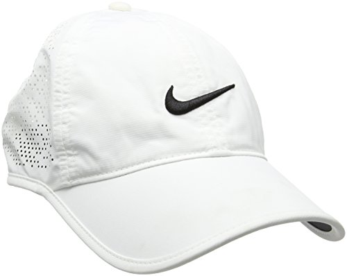 Ladies Golf Apparel Accessories - Nike Golf Women's Perforated Adjustable Hat (White)