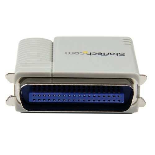StarTech.com 1-Port 10/100 Mbps Ethernet Parallel Network Print Server (PM1115P2) by StarTech (Image #2)