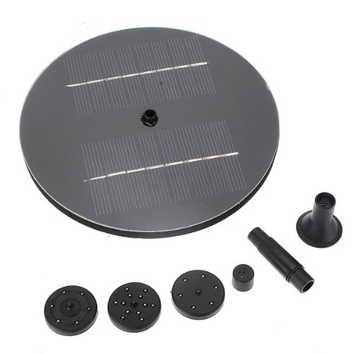 Solar Panel Water Floating Pump Fountain Pool Plants Watering Kit by Yongse