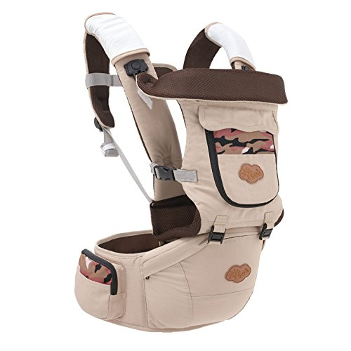 CHILD CARRIER, Multi-Position Soft Structured Sling - Adjustable Safety Durable Comfortable Ergonomic Baby Carrier for Infants and Toddlers