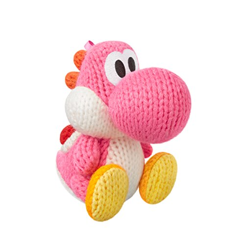 Pink Yarn Yoshi Amiibo (Yoshi's Woolly World Series) ()