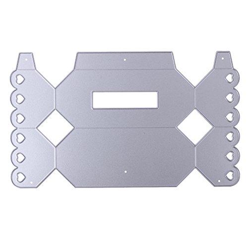 Troquel de metal con diseño de cajas de caramelos troqueles de corte para DIY Scrapbooking álbum de fotos: Amazon.es: Hogar