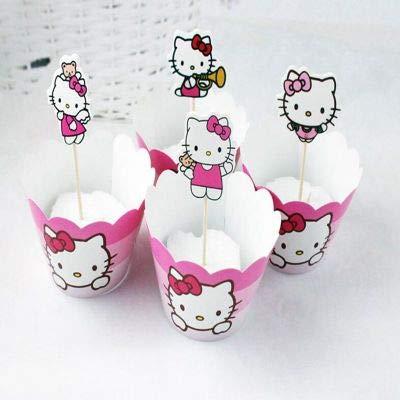 Cupcake Toppers – 24 piezas de Minne/Minions/adolescente ...