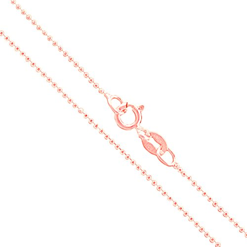 1mm Diamond Cut Bead Chain - 9