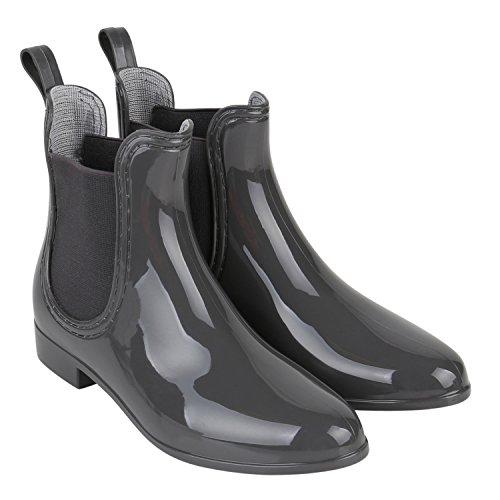 Japado - Botas de agua Mujer Grau Grau
