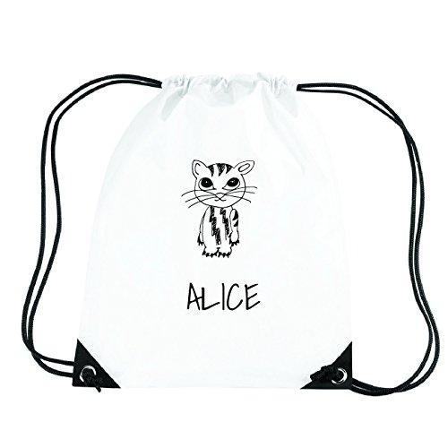 JOllipets ALICE Turnbeutel Sport Tasche PGYM5102 Design: Katze