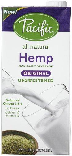 Pacific Natural Foods Hemp Milk - Unsweetened Original - 32 oz