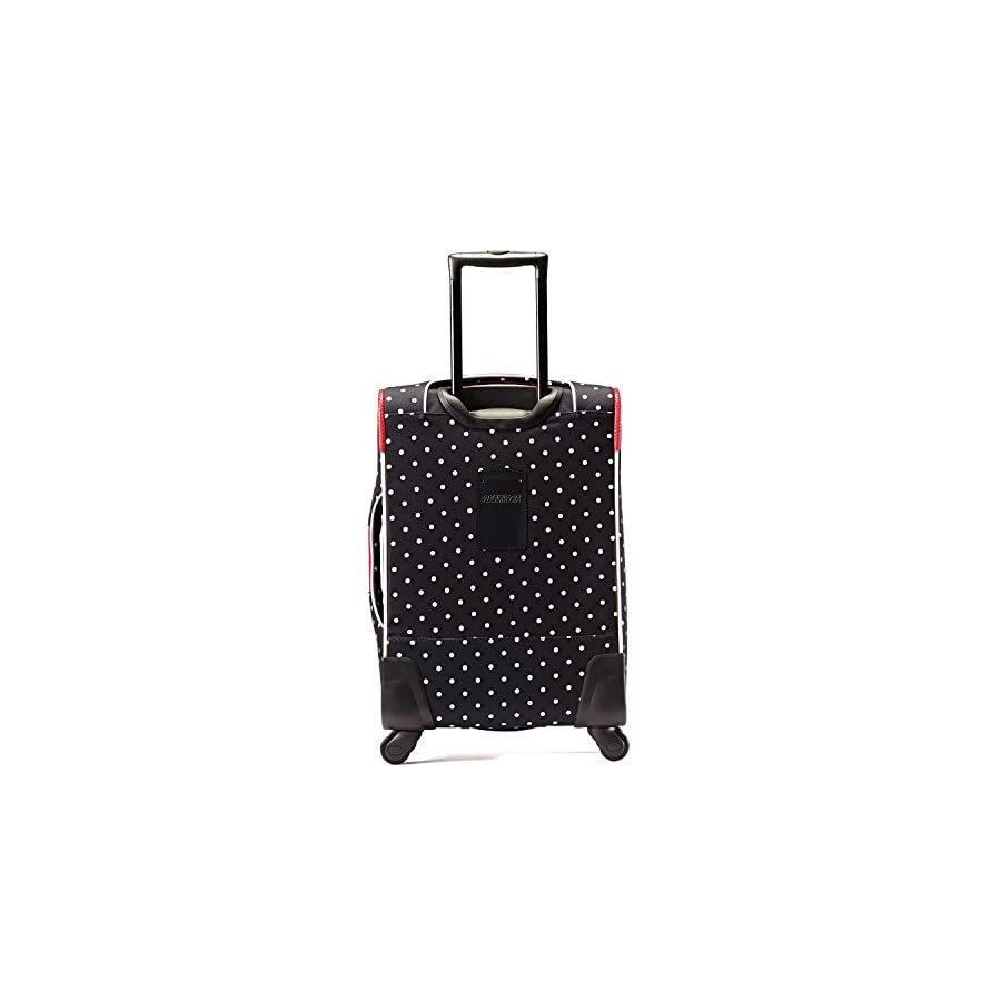 American Tourister Disney Minnie Mouse Red Bow Softside Spinner 21, Multi