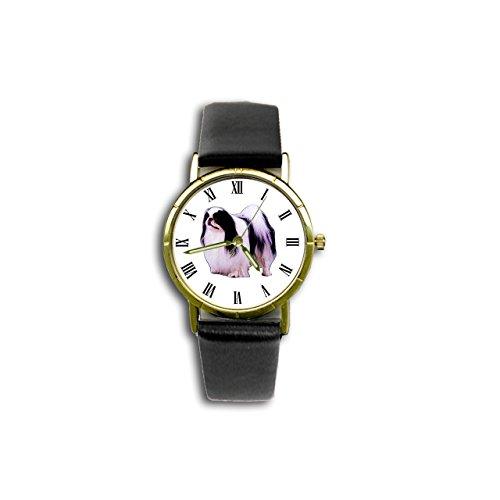 Japanese Chin Watch (Dog Breed Wristwatch)
