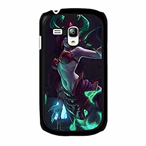 Exciting Cassiopeia League of Legends Phone Case Cover for Samsung Galaxy S3 Mini LOL Logo Hot Shelling