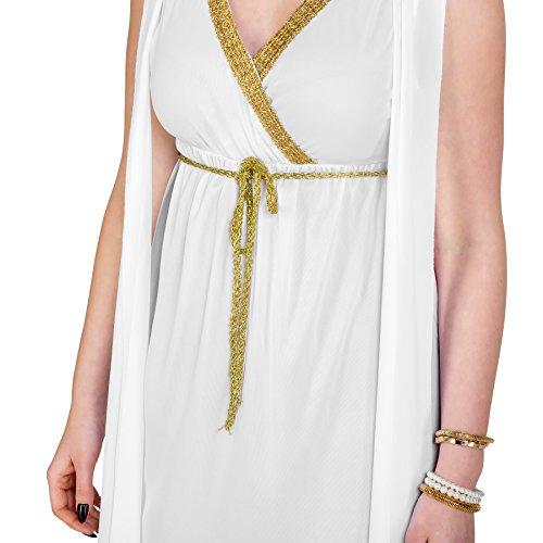 Applicati All Bellezza Greca Drappi Penelope Dressforfun Da Costume Abito Donna Lungo qzzCpBw